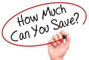 Hur mycket kan du spara?